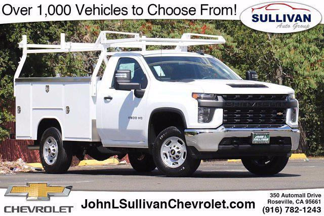 2021 Chevrolet Silverado 2500 Regular Cab 4x2, Cab Chassis #00235490 - photo 1