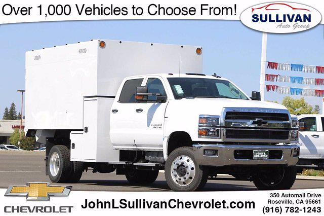 2021 Chevrolet Silverado 5500 Crew Cab DRW 4x4, Knapheide Chipper Body #00235727 - photo 1