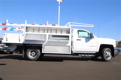 2018 Silverado 3500 Regular Cab DRW 4x2,  Harbor Standard Contractor Body #221121 - photo 4