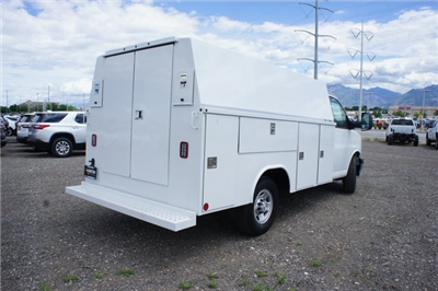 2017 Express 3500 4x2,  Service Utility Van #F17135 - photo 2