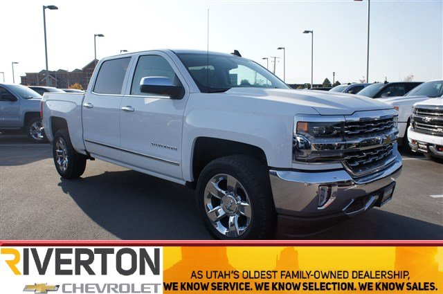 2018 Silverado 1500 Crew Cab 4x4 Pickup #T08197 - photo 1