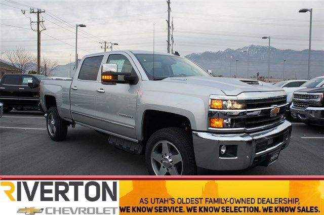 2018 Silverado 2500 Crew Cab 4x4 Pickup #T08202 - photo 1