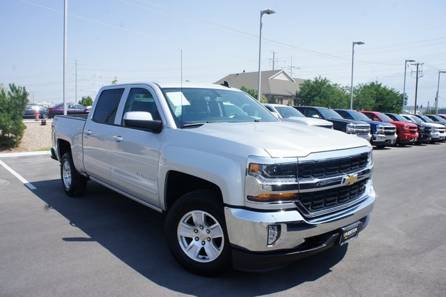 2018 Silverado 1500 Crew Cab 4x4,  Pickup #T08616R - photo 1