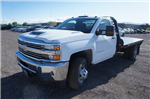 2018 Silverado 3500 Regular Cab DRW 4x4,  Freedom Rodeo Platform Body #T08674 - photo 7