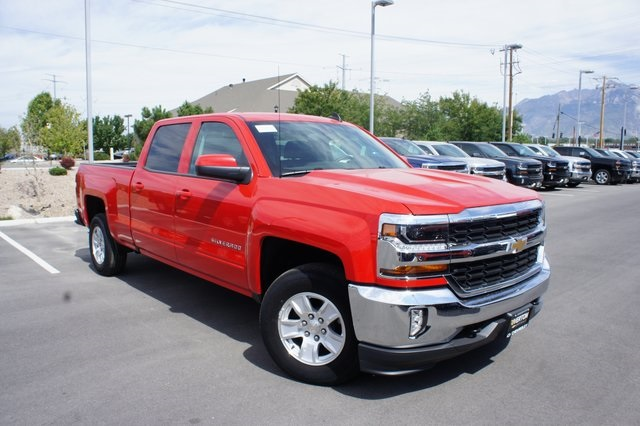 2018 Silverado 1500 Crew Cab 4x4,  Pickup #T08830R - photo 3