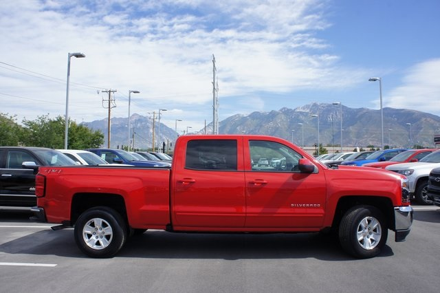 2018 Silverado 1500 Crew Cab 4x4,  Pickup #T08830R - photo 4