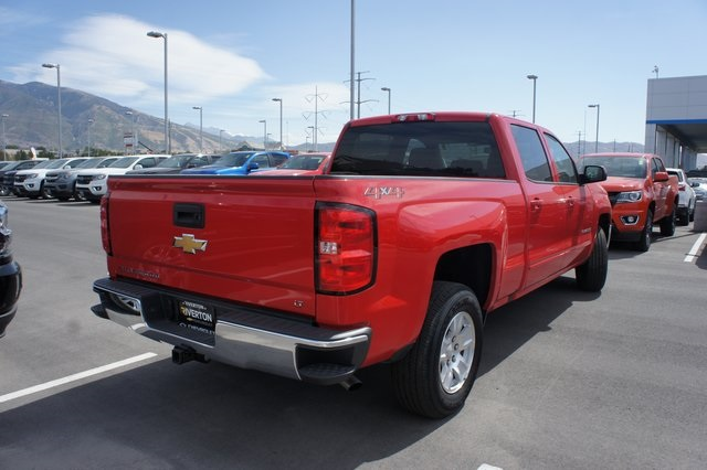 2018 Silverado 1500 Crew Cab 4x4,  Pickup #T08830R - photo 5