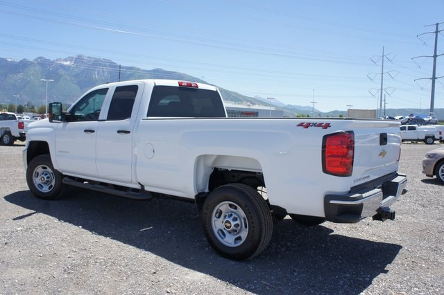 2018 Silverado 2500 Double Cab 4x4,  Cab Chassis #T08934 - photo 5