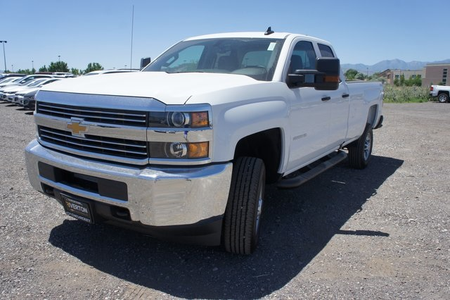 2018 Silverado 2500 Double Cab 4x4,  Cab Chassis #T08934 - photo 7