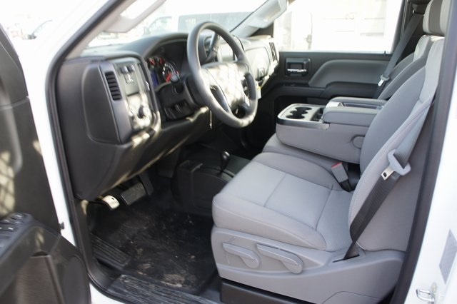 2019 Silverado 3500 Regular Cab DRW 4x4,  Knapheide Value-Master X Platform Body #T09366 - photo 10