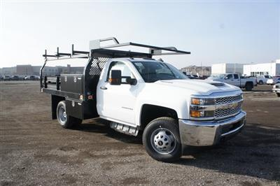 2019 Silverado 3500 Regular Cab DRW 4x4,  Knapheide Value-Master X Platform Body #T09366 - photo 1