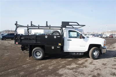 2019 Silverado 3500 Regular Cab DRW 4x4,  Knapheide Value-Master X Platform Body #T09366 - photo 3
