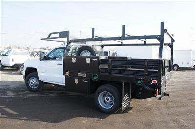 2019 Silverado 3500 Regular Cab DRW 4x4,  Knapheide Value-Master X Platform Body #T09366 - photo 5