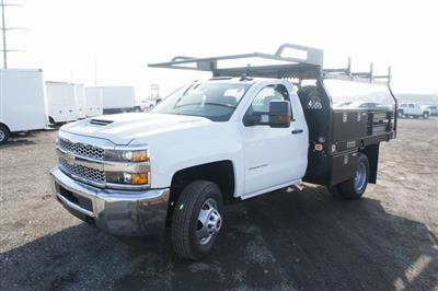 2019 Silverado 3500 Regular Cab DRW 4x4,  Knapheide Value-Master X Platform Body #T09366 - photo 7