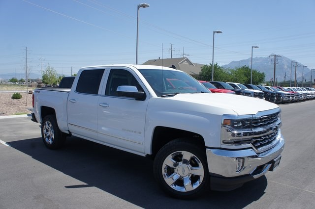 2018 Silverado 1500 Crew Cab 4x4,  Pickup #T18035 - photo 1