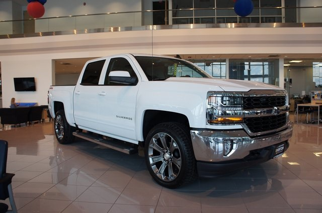 2018 Silverado 1500 Crew Cab 4x4,  Pickup #T18041 - photo 1