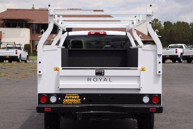 2019 Chevrolet Silverado 2500 Double Cab RWD, Royal Service Body #C40261 - photo 8