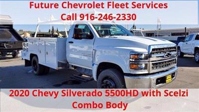 2020 Chevrolet Silverado 5500 Regular Cab DRW 4x2, Scelzi SEC Combo Body #C40819 - photo 1