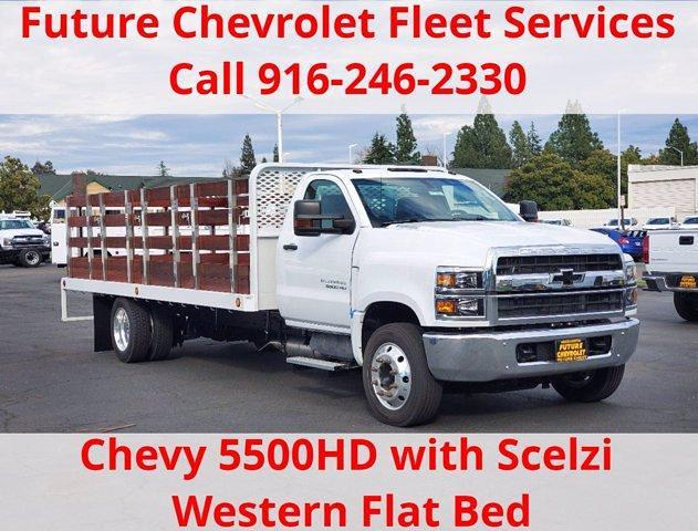 2019 Chevrolet Silverado 5500 Regular Cab DRW 4x2, Scelzi Stake Bed #C40864 - photo 1