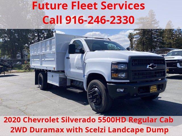 2020 Chevrolet Silverado 5500 Regular Cab DRW 4x2, Scelzi Landscape Dump #C40865 - photo 1
