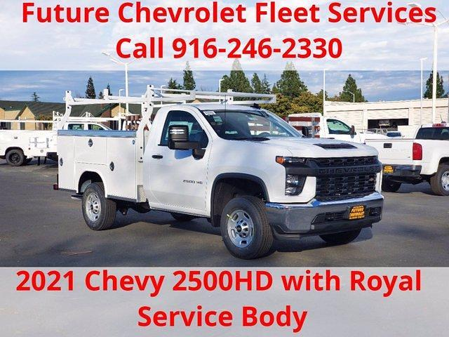 2021 Chevrolet Silverado 2500 Regular Cab 4x2, Royal Service Body #C41189 - photo 1