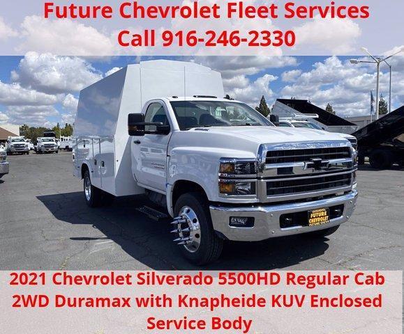 2021 Chevrolet Silverado Medium Duty Regular Cab DRW 4x2, Knapheide Service Body #C41294 - photo 1