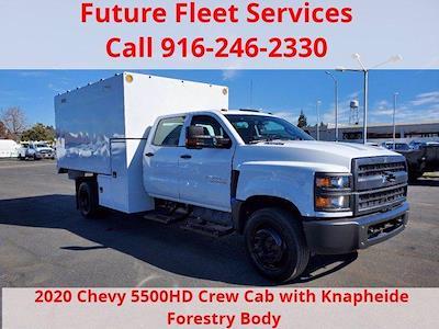 2020 Chevrolet Silverado 5500 Crew Cab DRW 4x2, Chipper Body #C41318 - photo 3