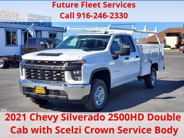 2021 Chevrolet Silverado 2500 Double Cab 4x2, Scelzi Service Body #C41330 - photo 1