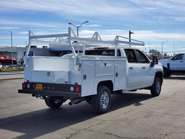 2021 Chevrolet Silverado 2500 Crew Cab 4x2, Scelzi Service Body #C41331 - photo 1
