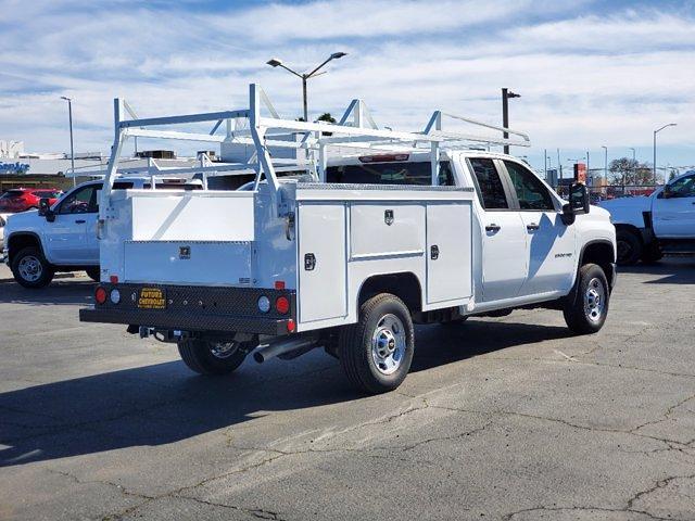 2021 Chevrolet Silverado 2500 Double Cab 4x2, Scelzi Service Body #C41332 - photo 1