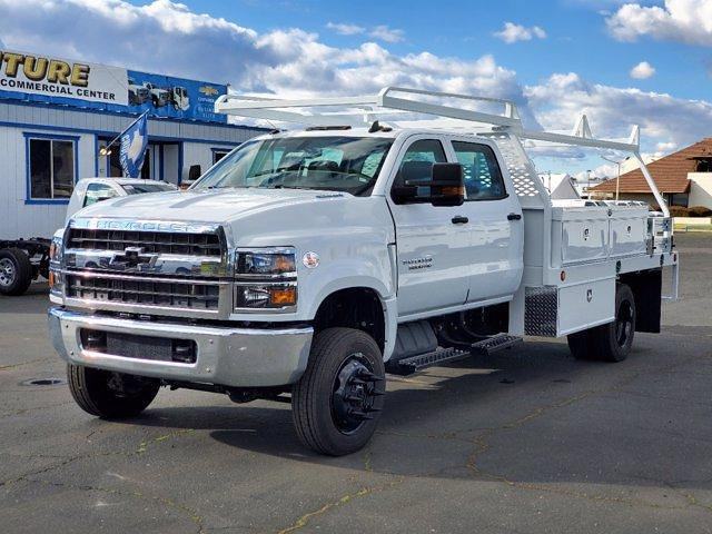2021 Chevrolet Silverado 5500 Crew Cab DRW 4x4, Scelzi Contractor Body #C41351 - photo 1