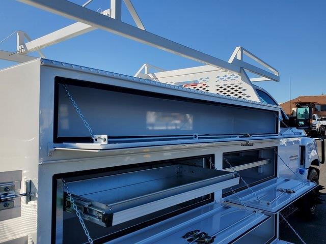 2021 Chevrolet Silverado 5500 Regular Cab DRW 4x2, Scelzi SCTFB Contractor Body #C41405 - photo 11