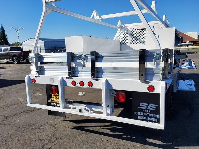 2021 Chevrolet Silverado 5500 Regular Cab DRW 4x2, Scelzi SCTFB Contractor Body #C41405 - photo 12