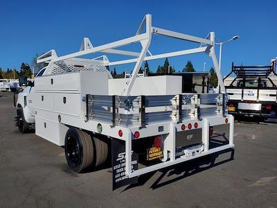 2021 Chevrolet Silverado 5500 Regular Cab DRW 4x2, Scelzi SCTFB Contractor Body #C41405 - photo 3