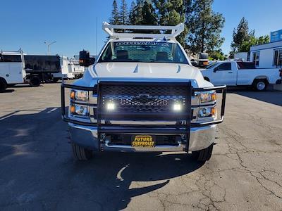 2021 Chevrolet Silverado 5500 Regular Cab DRW 4x2, Scelzi SCTFB Contractor Body #C41405 - photo 4