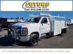 2021 Chevrolet Silverado 5500 Regular Cab DRW 4x2, Scelzi SCTFB Contractor Body #C41405 - photo 1