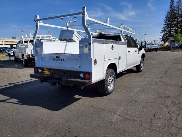 2021 Chevrolet Silverado 2500 Crew Cab 4x4, Royal Truck Body Service Body #C41455 - photo 1