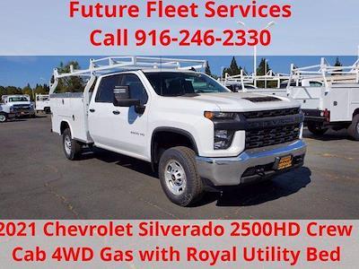 2021 Chevrolet Silverado 2500 Crew Cab 4x4, Royal Truck Body Service Body #C41455 - photo 1