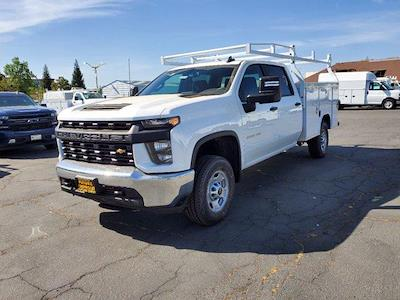 2021 Chevrolet Silverado 2500 Crew Cab 4x4, Royal Truck Body Service Body #C41455 - photo 4
