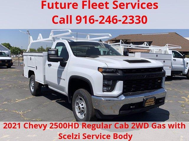 2021 Chevrolet Silverado 2500 Regular Cab 4x2, Scelzi Service Body #C41464 - photo 1
