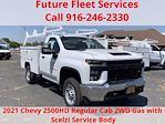 2021 Chevrolet Silverado 2500 Regular Cab 4x2, Scelzi Crown Service Body #C41464 - photo 1