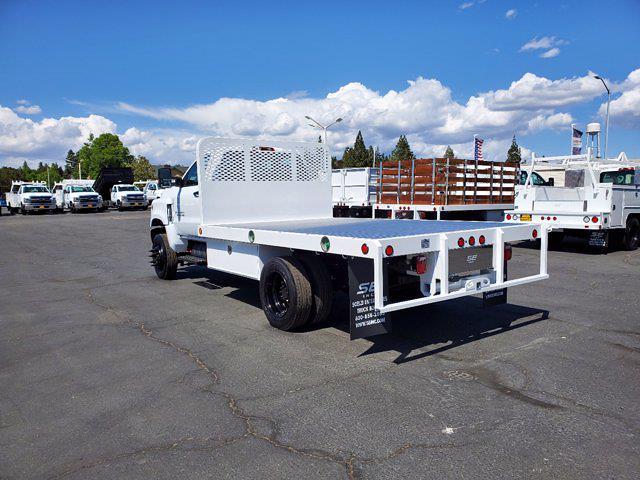 2021 Chevrolet Silverado 5500 Regular Cab DRW 4x4, Scelzi Platform Body #CV00015 - photo 1