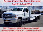 2021 Chevrolet Silverado 5500 Regular Cab DRW 4x4, Scelzi WFB Platform Body #CV00015 - photo 1