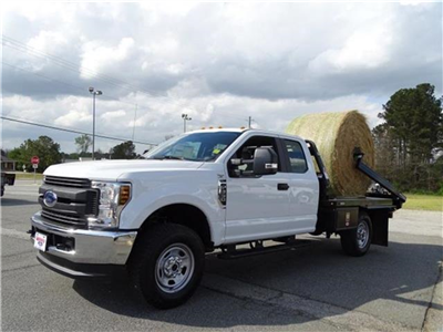 2018 F-350 Super Cab 4x4,  C5 Manufacturing Chisholm Trail Bale Bed Platform Body #18F029 - photo 1