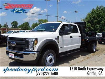 2018 F-550 Crew Cab DRW 4x2,  Knapheide Value-Master X Platform Body #18F217 - photo 1