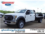 2018 F-550 Crew Cab DRW 4x2,  Knapheide Platform Body #18F233 - photo 1