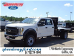 2018 F-450 Crew Cab DRW 4x2,  Knapheide Platform Body #18F265 - photo 1