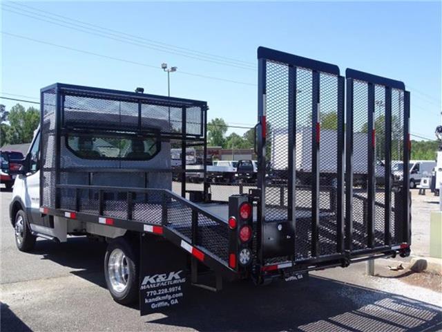 2020 Ford Transit 350 HD DRW 4x2, K&K Manufacturing Dovetail Landscape #20F055 - photo 1
