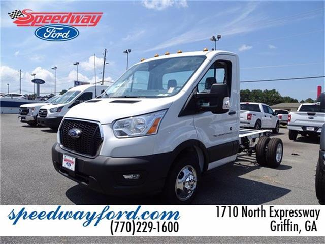 2020 Ford Transit 350 HD DRW RWD, Cab Chassis #20F110 - photo 1