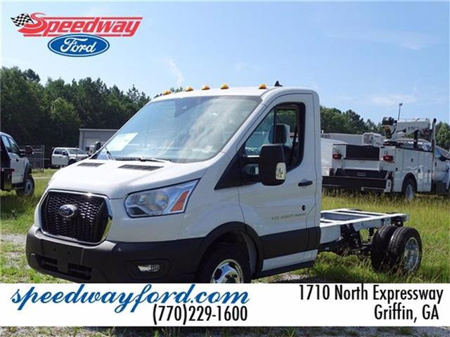 2020 Ford Transit 350 HD DRW RWD, Cab Chassis #20F114 - photo 1
